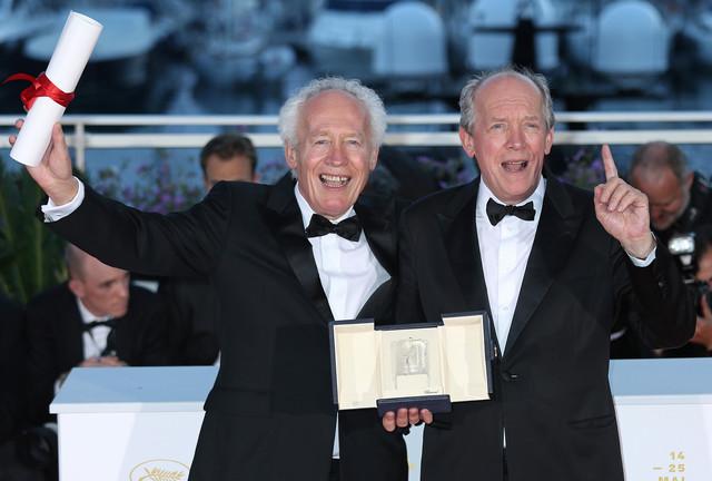 左からジャン=ピエール・ダルデンヌ、リュック・ダルデンヌ。(写真提供:DAVID SILPA /UPI / Newscom / ゼータ イメージ)