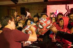 インドネシア・バリ島でのファンイベントに登場したトム・ホランド。