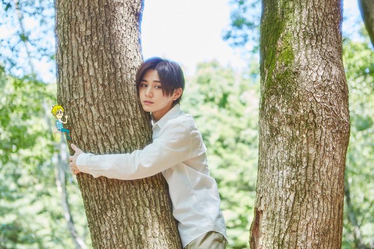 「セミオトコ」より、山田涼介演じるセミ。