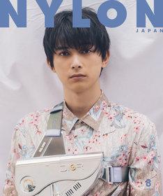 NYLON JAPAN8月号表紙