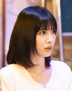 「びしょ濡れ探偵 水野羽衣」より、松田るか演じる杉浦美香子。