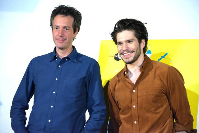 左からアントナン・ボードリー、フランソワ・シヴィル。