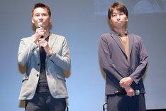 左から吉田康弘、滝本憲吾。