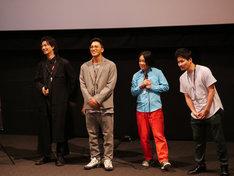 左から斎藤工、SWAY、永野、清水康彦。