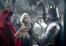「ヘルボーイ」より、ミラ・ジョヴォヴィッチ演じるブラッドクイーン。