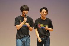 左から高崎翔太、橋本祥平。