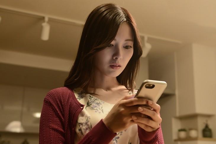 白石麻衣演じる松田美乃里。