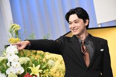 「青天を衝け」のタイトルにちなみマスコミから「衝く感じで」と求められた吉沢亮。