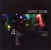 ZEPPET STOREのラストツアーの模様が収録されたライブアルバム「4」。