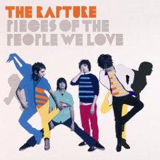 THE RAPTUREが昨年9月にリリースした3年ぶりの2ndアルバム「PIECES OF THE PEOPLE WE LOVE」。