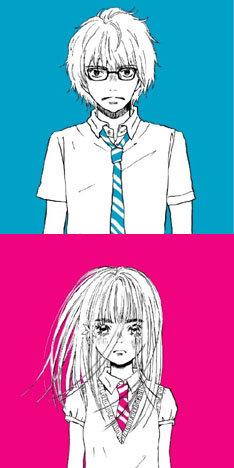 ジャケット(写真上が「風街少年」、下が「風街少女」)を手がけたのは、選曲にも携わった人気漫画家・羽海野チカ。現在「風待茶房」では羽海野と松本の対談が公開されている。