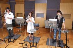 「あなたと」のレコーディングは、コブクロが全国ツアー、絢香が最新アルバムのプロモーション真っ只中の5月下旬に行われた。