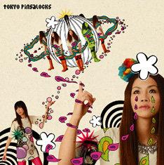 tokyo pinsalocksのベーシストHisayoはGHEEEでもベースを担当している(写真はtokyo pinsalocksの最新アルバム「リタ・プラネット」)。
