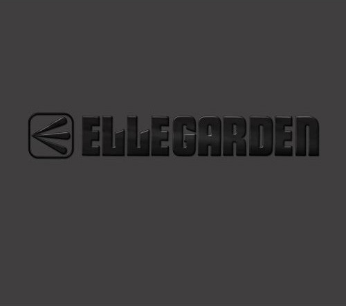 ELLEGARDENのベストアルバム「ELLEGARDEN」ジャケット。