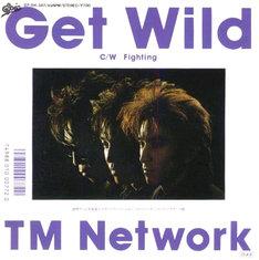 TM NETWORKのシングル「Get Wild」。発売当時小室は28歳。