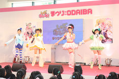 アニメ「しゅごキャラ!」からは昨年、Berryz工房と℃-uteのメンバーによるBuono!が誕生。しゅごキャラエッグ!も同様のブレイクが期待される。