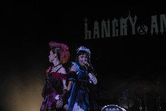HANGRY & ANGRY次回のライブは1月23日。お披露目ライブは1曲のみだったが、次はどのようなステージになるのだろうか(写真は11月28日、渋谷C.C.Lemonホールの様子)。