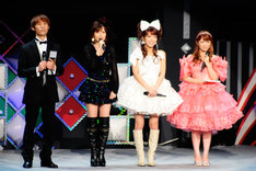 辻希美(右から2番目)は横浜アリーナのコンサートから、本格的に芸能活動を再開。コンサート直前にはオフィシャルブログ「のんピース」もスタートした。