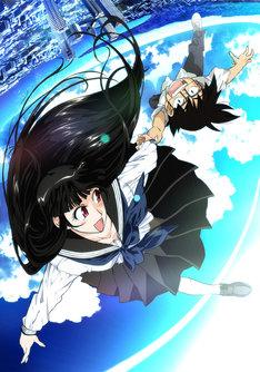 アニメ「夏のあらし! ~春夏冬中~」は「さよなら絶望先生」シリーズや「化物語」など、インパクトの強い作風で人気を集める監督・新房昭之の最新作(写真はアニメ第一期キービジュアル)。