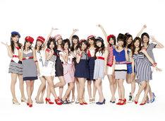 メンバーの6号外岡えりか(写真左から2番目)は、現在マクドナルド「クールサマー『みんな100円』篇」CMに出演中。この秋には初主演映画も公開される。