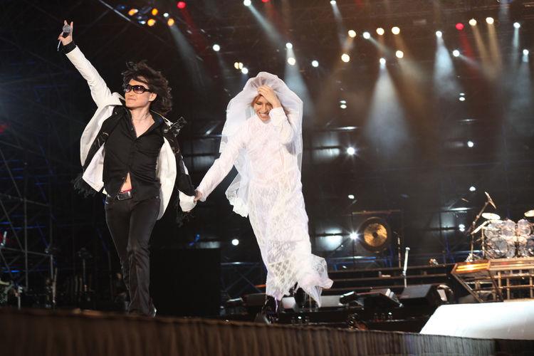X JAPAN台北公演でYOSHIKIがウェ...