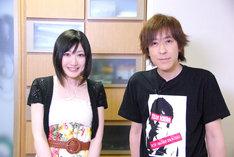 オーディションを勝ち抜いた注目のディーバ、ハイジ(写真左)と伊藤一朗(右)。