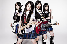 現役女子高生が在籍するガールズバンド、SCANDAL。