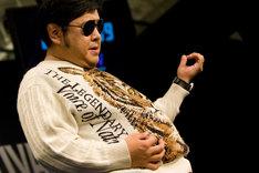 エアギター世界選手権で2年連続チャンピオンとなったダイノジ大地。