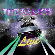 iTunes Store限定シングル「The SAMOS Live Mix」のジャケット。なお、ここに収められる音源「LIVE in STADIUM HOUSE 08'」は「INVOICE」初回限定盤のボーナスディスクにも収録。