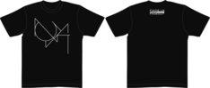 Tシャツのサイズは1種類のみ。着丈:70cm、身幅:52cm、袖丈:20cmとなっている。