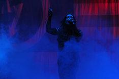 写真は初日のトリに登場したMARILYN MANSON。(C) V-ROCK FESTIVAL '09