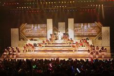 出演メンバーによる新年のごあいさつ。