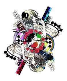 写真はシングル「タナトス feat.ティッシュ姫」ジャケット写真。