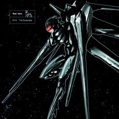 KEN ISHIIによる自薦ベストアルバム「KI15 - The Episodes」のジャケット。同作と「KI15 - The Box」のジャケット、パッケージのデザインを手がけたのはヤマシタデザイン