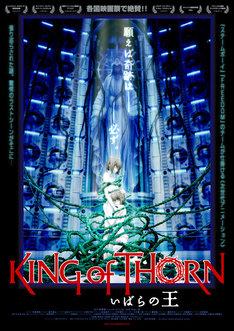 映画「いばらの王 -King of Thorn-」告知ポスター。(C)YUJI IWAHARA/PUBLISHED BY ENTERBRAIN, INC./Team IBARA