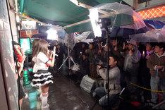 雨にも負けず披露された東京女子流のオリジナル曲「キラリ☆」は、2月17日よりmu-moにて先行着うた配信が決定。本日2月13日には、結成以来2回目となるライブ「LIVE*002 バレンタインプレパーティー」が渋谷O-nestで開催される。