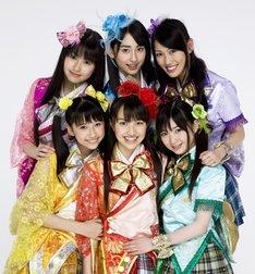 新曲「行くぜっ!怪盗少女」はTBS系「ランク王国」の4月・5月度番組オープニングテーマに起用。