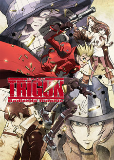 「TRIGUN -Badlands Rumble-」キービジュアル。(C)内藤泰弘/少年画報社・トライガン製作委員会