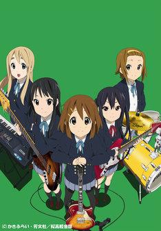 第20話で放送されたライブは中野梓(G/CV: 竹達彩奈 イラスト右から2番目)を除くメンバー4人の高校生活最後の学園祭ライブとあって、力のこもった感動的なステージとなった。