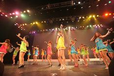 SHIBUYA-AXのフロアには、女性ファンの姿も多数見受けられた。