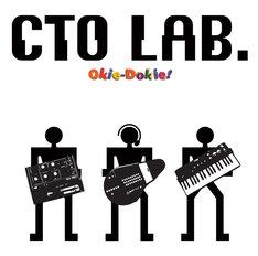 """ユニット名の""""CTO""""は「Compact Techno Organization」の略。その名のとおり、小型のシンセサイザーやアップルのモバイル製品、ゲーム機のリモコンなどコンパクトなテクノ機器を操る(写真はアルバム「Okie-Dokie!」ジャケット)。"""