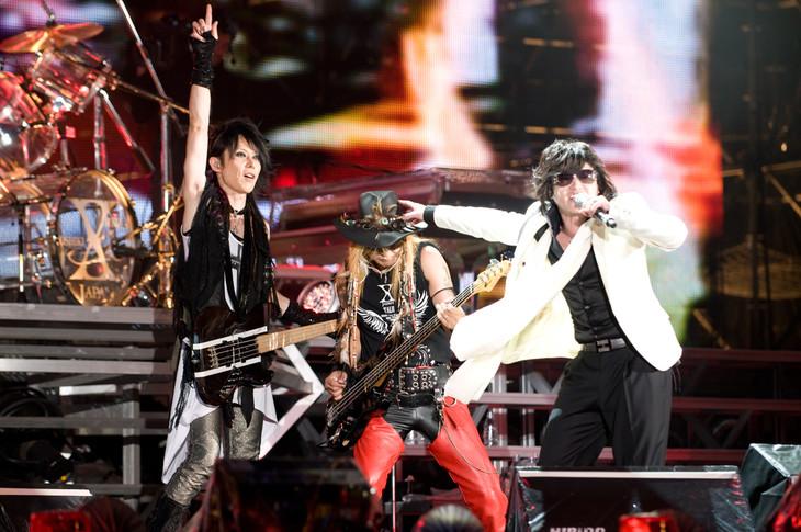 X JAPAN「再会の夜」にTAIJI含む...