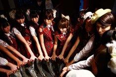 映画「DOCUMENTARY of AKB48 to be continued」のワンシーン。(C)「DOCUMENTARY of AKB48」製作委員会