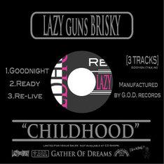 写真はG.O.D.Record第1弾作品となるシングル「CHILDHOOD」ジャケット。