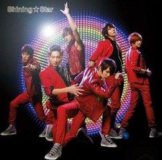 シングル「Shining☆Star」初回限定盤の韓国メトロマップ付き仕様ジャケット。マップは全6種類のうち1種類がランダムで封入される。