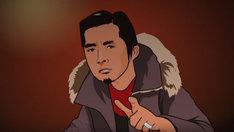 写真は「Merry X'mas Mr.Lonelyman」ビデオクリップより。アニメ化したボーカル増子直純44歳。