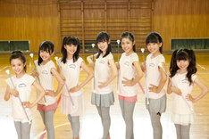 """成長期限定ユニット「さくら学院」から誕生した""""放課後のクラブ活動ユニット""""、さくら学院 バトン部 Twinklestars。"""