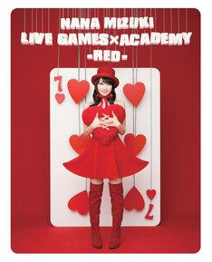写真はBlu-ray「NANA MIZUKI LIVE GAMES×ACADEMY -RED-」ジャケット。