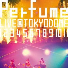 DVD「結成10周年、メジャーデビュー5周年記念!Perfume LIVE @東京ドーム『1 2 3 4 5 6 7 8 9 10 11』」の初回限定盤ジャケット。アンコールで披露された「ポリリズム」での写真が使用されている。