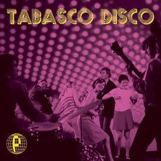 ライブ会場限定シングル「TABASCO DISCO」ジャケット写真。